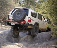 CBI Tire carriers Rear bumper