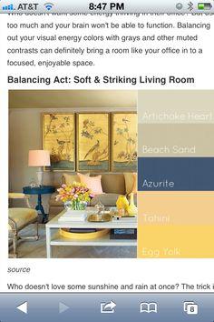 Guest room color scheme?