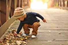 "Taking my child on a fall ""crunchy walk"" (autumn hike) every year. #suntrustbucketlist"