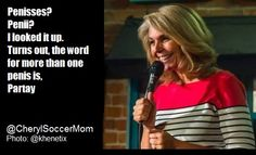 Stand up comedy from Cheryl Anderson.