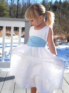 Eyelet Flower Girl Dress