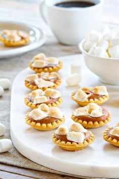 Mini Sweet Potato Pies are everything you love about the classic Thanksgiving dessert, in one delicious bite. #pie #sweetpotato