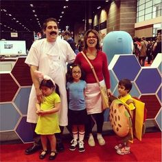 The Bob's Burgers Family | Community Post: 18 Families That Prove The Family That Cosplays Together, Stays Together