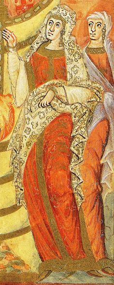 Charles the Bald and his wife, between 866 and 875