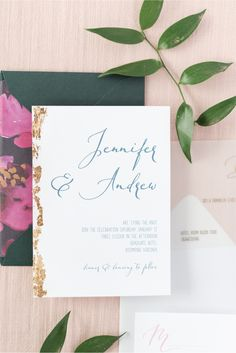 Golf Foil Wedding Invitation, Vellum Wedding Invitation, Custom Liners and Envelopes, Gold Foil Details, Vellum Invitations, Wedding Invitation Suites Foil Wedding Invitations, Wedding Invitation Suite, Wedding Stationery, Envelope Liners, Tie The Knots, Gold Foil, Envelopes, Studios, Golf