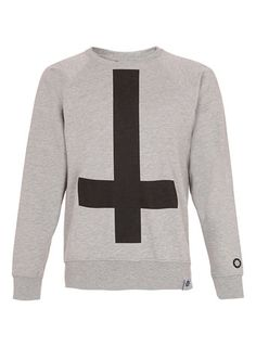 Abandon Ship 'Cross' Sweatshirt* - Branded Sweatshirts - Men's Sweatshirts  - Clothing