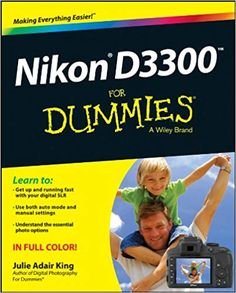 """Read """"Nikon For Dummies"""" by Julie Adair King available from Rakuten Kobo. Take your best shot with your new Nikon Congratulations on your new Nikon DSLR! Photography For Dummies, Dslr Photography Tips, Popular Photography, Photography Tutorials, Digital Photography, Photography Equipment, Landscape Photography, Portrait Photography, Wedding Photography"""