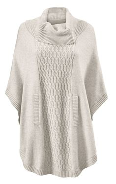 Discover Cabi's Cowl Poncho; its mixed textures add a couture element that contrasts nicely with jeans or leggings. View our fall women's clothing collection.