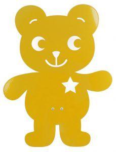Roommate Wandleuchte Teddy Gelb