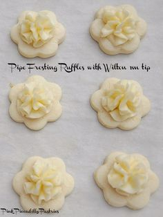 What could be more lovely than Frilly Lemon Cookies at a  Tea Party ? I adore Lemon Meltaway Cookies and have been making them ...