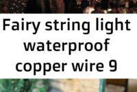 Fairy string light waterproof copper wire... Winter Bridal Showers, Flower Diy, Copper Wire, Diy Paper, String Lights, Paper Goods, Diy For Kids, Fairy, Diy Crafts