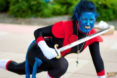 #Cosplay #Mutant: #Nightcrawler #Rule63 by Massavanna