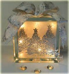 glass block gift idea!