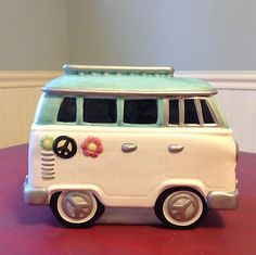 Volkswagen Bus Cookie Jar