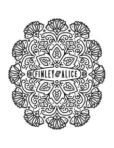 Whimsical Finley & Alice logo by @keithdavisyoung (he has other great work on @Dribbble too!)