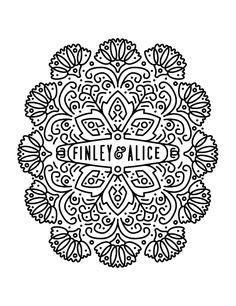 Finley & Alice logo beauty-zentangle-like Web Design, Design Art, Print Design, Logo Design, Type Design, Design Graphique, Art Graphique, Typography Logo, Graphic Design Typography