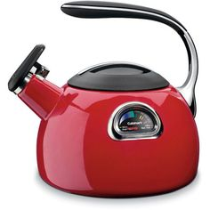 Red colored Tea Kettles