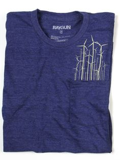 """Windmills In My Pocket"" T-shirt by Raygun in Des Moines"