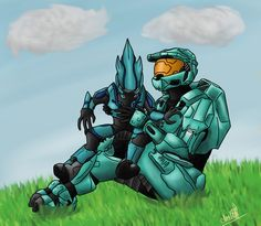 For this drawing challenge you have to draw from the game, or movies halo! Starting today, til the 22nd. Winner gets a shout out. Vote by liking. Last winner was Baile