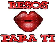 Imágenes con besos para dedicar; Dedica un beso