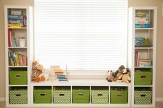 MyBellaBug : Playroom: Seating Bench and Toy Storage #idea #storage