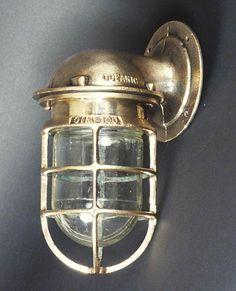 Marine Wall Light: PW Antique Lighting - Bronze Marine Wall Light,Lighting