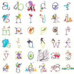 35 best disney letters and numbers images on Disney Character Drawings, Cute Disney Drawings, Cute Animal Drawings, Kawaii Drawings, Walt Disney, Disney Diy, Disney Crafts, Disney Letters, Disney Alphabet