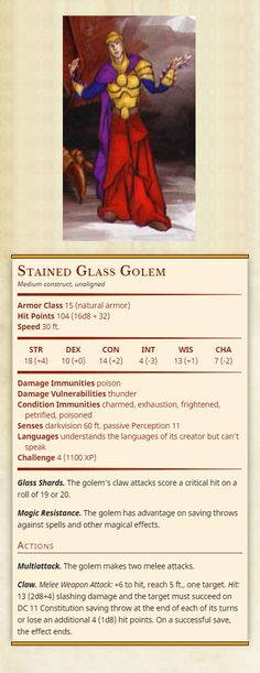 68 Best D&D stat sheets images in 2019   Dnd monsters, Dnd