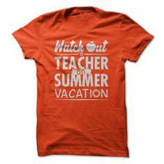 Teacher on summer vacation T-Shirts, Hoodies. ADD TO CART ==►…