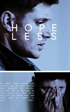 Dean Winchester: you will lose everything #spn