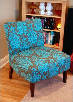 given an old chair a new look. (Creatively Em Blog)