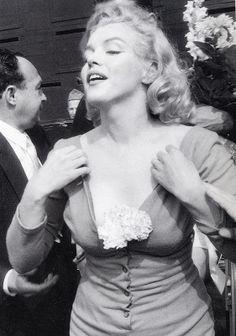 Marilyn at Ebbets Field, 1957