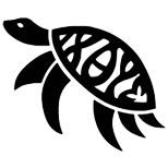 Simple turtle tattoo design love this for my memory of my nephew tat with his name in the middle