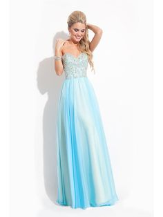 A-Line/Princess Sweetheart Sleeveless Chiffon Floor-Length Applique Dresses