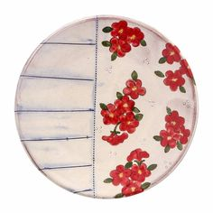 Cole2017 White Slip, Ceramic Painting, Ceramic Plates, Earthenware, Painting Inspiration, Pottery, Hand Painted, Ceramics, Tableware