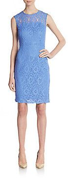 cute -- Lace Illusion Sheath Dress  -- http://www.hagglekat.com/lace-illusion-sheath-dress/