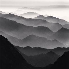 Michael Kenna - Huangshan Mountains, Study 42, Anhui, China. 2010