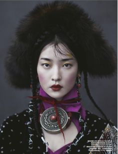 Du Juan Graces 'Whisper of Tibet' Lensed By Yin Chao For Harper's Bazaar China — Anne of Carversville  http://www.anneofcarversville.com/style-photos/2016/11/13/du-juan-graces-whisper-of-tibet-lensed-by-yin-chao-for-harpers-bazaar-china