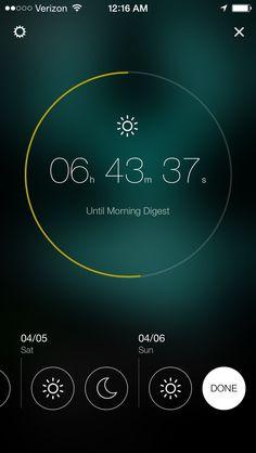 Yahoo Digest Countdown