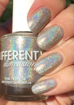 ehmkay nails: Different Dimension Cosmologically Speaking Part 2: Swatches and Review. Absolute Zero