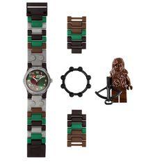 LEGO Chewy watch! Tyler has a Darth M. one.