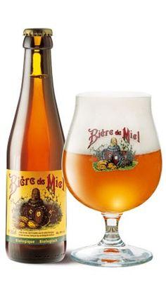 Cerveja Bière de Miel, estilo Saison / Farmhouse, produzida por Brasserie Dupont, Bélgica. 8% ABV de álcool.