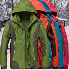 Men's Waterproof Outdoor Interchange Jacket..Sale $70