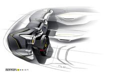 """When the first style meetings are held to define a new creation bearing the Prancing Horse badge, the focus is usually concentrated on performance-related content, such as the mechanical layout, aerodynamic requisites and dimensions of the package. """"This time around, we had to start from a fundamental conceptual question"""" explains Ferrari design chief Flavio Manzoni."""