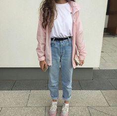 boyfriend-jeans-fashion-pink-tumblr-Favim.com-3927752.jpg (500×494)