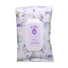 On-the-go Facial Towelettes, also part of the Sparkle & Shine box--willa® Lavender Facial Towelettes , $7.00 #birchbox #sparkleandshine