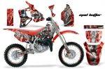 Honda Motocross Graphic Kit (all designs available) Ktm Dirt Bikes, Mx Bikes, Bike Kit, Honda Cr, Motocross, All Design, Yamaha, Custom Design, Hobbies