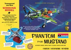 Monogram 1/32 Phantom Mustang Plastic Model Kit FROM REVELL. # 85-0067. SSP Select Subjects Program, available for limited time only!