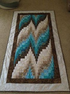Quilting: Bargello Quilt