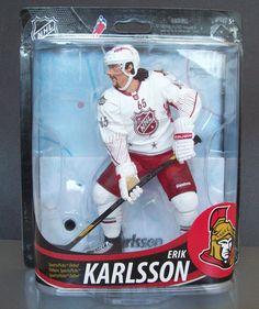 Mcfarlane NHL 33 Senators Sens Erik Karlsson Figure Wearing 2012 All-Star Jersey